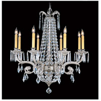 Czarina 8 Light 30 inch Polished Silver Chandelier Ceiling Light