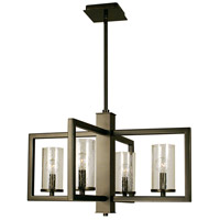 HA Framburg Theorem 4 Light Dining Chandelier in Mahogany Bronze 1155MB