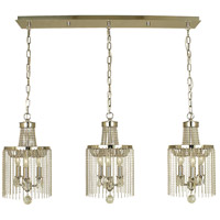 HA Framburg Guinevere 9 Light Island Chandelier in Polished Nickel 1163PN