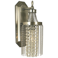 HA Framburg Guinevere 1 Light Sconce in Brushed Nickel 1166BN