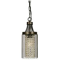 HA Framburg Guinevere 1 Light Pendant in Mahogany Bronze 1168MB