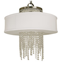 Angelique 4 Light 23 inch Brushed Nickel Dining Chandelier Ceiling Light
