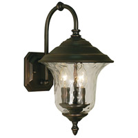 Hartford 3 Light 15 inch Siena Bronze Exterior Wall Mount in Sienna Bronze