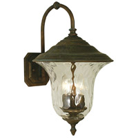 Framburg 1225RC Hartford 3 Light 18 inch Raw Copper Exterior Wall Lantern