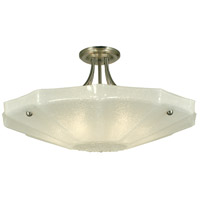 HA Framburg Veronique 6 Light Ceiling Mount in Brushed Nickel 1246BN