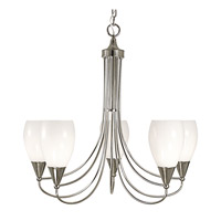 HA Framburg Simplicity 5 Light Dining Chandeliers in Ebony 1365EBONY