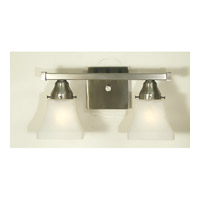 HA Framburg Taylor 2 Light Sconce in Brushed Nickel 1372BN