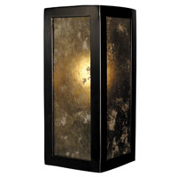 HA Framburg Evolution 1 Light Bath and Sconces in Ebony 1411EBONY