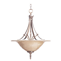 HA Framburg Black Forest 3 Light Pendant in Harvest Bronze/Champagne Piastra 1490HB