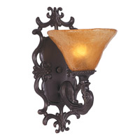 HA Framburg Centennial 1 Light Bath Light in Mahogany Bronze 1501MB