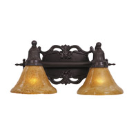 HA Framburg Centennial 2 Light Bath Light in Mahogany Bronze 1502MB