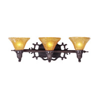 HA Framburg Centennial 3 Light Bath Light in Mahogany Bronze 1503MB
