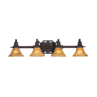 HA Framburg Centennial 4 Light Bath Light in Mahogany Bronze 1504MB