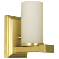 Solstice 1 Light 5 inch Satin Brass Sconce Wall Light
