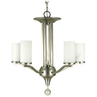 HA Framburg Solstice 5 Light Dining Chandelier in Satin Pewter 1625SP