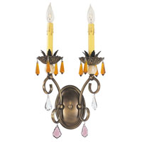 HA Framburg Polonaise 2 Light Bath and Sconces in Harvest Bronze 1632HB