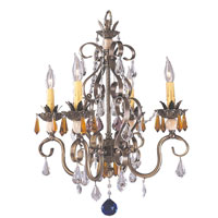 HA Framburg Polonaise 4 Light Mini Chandeliers in Harvest Bronze 1634HB