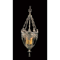 HA Framburg Centennial 5 Light Foyer Chandelier in French Brass 1643FB