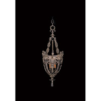 HA Framburg Centennial 3 Light Foyer Chandelier in French Brass 1646FB