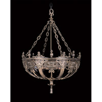 HA Framburg Centennial 6 Light Foyer Chandelier in French Brass 1648FB