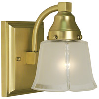 Taylor 1 Light 5 inch Satin Brass Sconce Wall Light