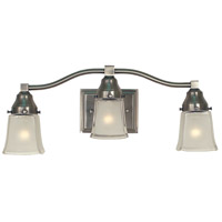 HA Framburg Taylor 3 Light Sconce in Brushed Nickel 1663BN