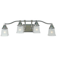 HA Framburg Taylor 4 Light Sconce in Polished Nickel 1664PN