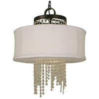 Angelique LED 18 inch Mahogany Bronze Dining Chandelier Ceiling Light
