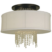 Angelique LED 23 inch Mahogany Bronze Ceiling Mount Ceiling Light