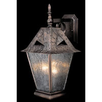 HA Framburg Chevalier 3 Light Exterior in Sienna Bronze 1690SBR