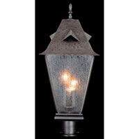 HA Framburg Chevalier 3 Light Exterior in Iron 1694IRON
