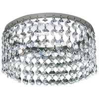 Angelique Polished Silver w/ Clear Crystal Can Trim