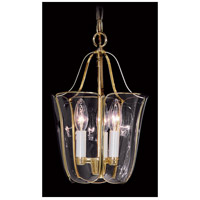 Yorkshire 3 Light 9 inch Polished Brass Foyer Chandelier Ceiling Light