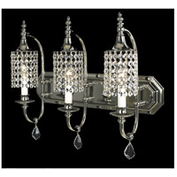 Princessa 3 Light 21 inch Polished Silver Dining Chandelier Ceiling Light