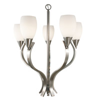 HA Framburg Solstice 5 Light Chandelier in Brushed Nickel 2075BN photo thumbnail