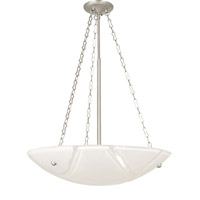 HA Framburg Veronique 4 Light Chandelier in Satin Pewter 2267SP