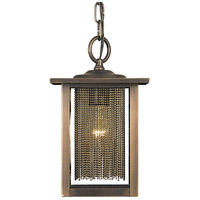 Gymnopedie 1 Light 10 inch Siena Bronze Exterior Ceiling Lantern