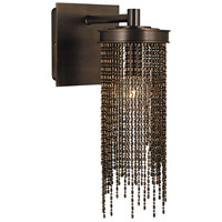 Arabesque 1 Light 6 inch Siena Bronze Bath Light Wall Light in Sienna Bronze