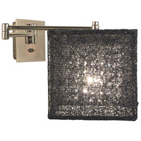 HA Framburg Chloe 1 Light Bath and Sconces in Polished Silver/Champagne Mesh 2329PS/CM photo thumbnail