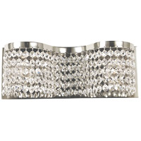 HA Framburg Princessa 2 Light Bath Light in Polished Silver 2342PS