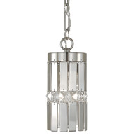 HA Framburg Nathaniel 1 Light Pendant in Polished Silver 2361PS