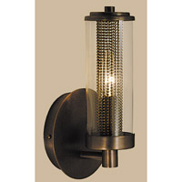 HA Framburg Moderne 1 Light Sconce in Siena Bronze 2381SBR