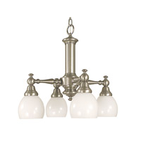 HA Framburg Sheraton 4 Light Bath Light in Brushed Nickel 2404BN