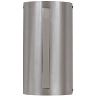 HA Framburg Oracle 2 Light Bath Light in Satin Pewter w/ Polished Nickel Accents 2411SP/PN