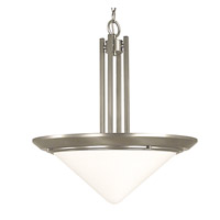 HA Framburg Architectural Pendants 2 Light Pendant in Satin Pewter 2463SP