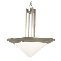 HA Framburg Architectural Pendants 4 Light Pendant in Satin Pewter 2465SP