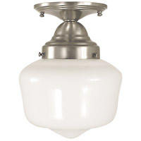 Taylor 1 Light 7 inch Brushed Nickel Semi-Flush Mount Ceiling Light