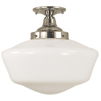 Taylor 1 Light 16 inch Polished Silver Semi-Flush Mount Ceiling Light