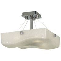 HA Framburg Veronique 4 Light Ceiling Mount in Polished Silver 2863PS