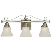 Taylor 3 Light 22 inch Brushed Nickel Sconce Wall Light
